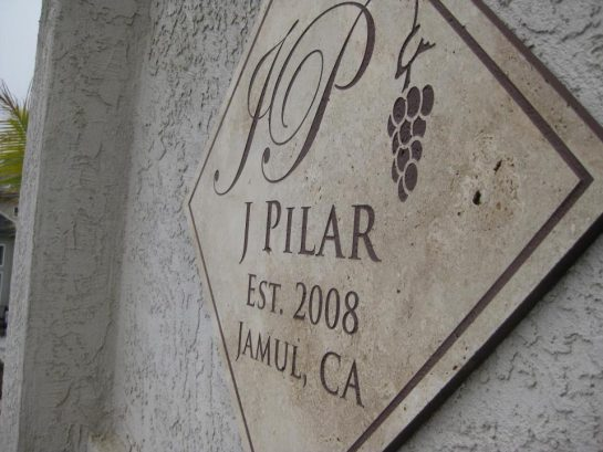 J Pilar Building Plaque
